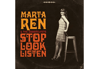 Marta -& The Groovelvets- Ren - Stop Look Listen [CD]