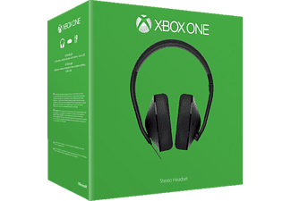 microsoft xbox one stereo gaming headset schwarz online. Black Bedroom Furniture Sets. Home Design Ideas