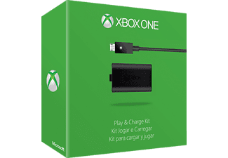 MICROSOFT Xbox One Play & Charge Kit, Ladegerät, 2.8 m