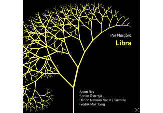 Adam Riis, Stefan Östersjö, Fredrik Malmberg, Danish National Vocal Ensemble - Libra - (SACD Hybrid)