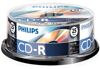 PHILIPS 25 Pack CD-R 700 MB 52 x (CR7D5NB25/00)
