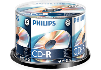 PHILIPS 50 Pack CD-R 700 MB 52 x (CR7D5NB50/00)