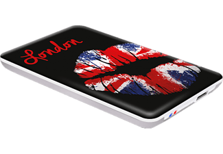 "ADVANCE Boîtier externe disque dur S-ATA 2.5"" USB 3.0 Arty Pop London Kiss (BX-KISS3)"