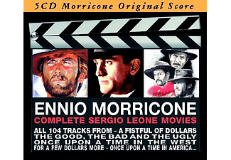 Solisti E Orchestre Del Cinema Italiano - Complete Sergio Leone Movies (CD)
