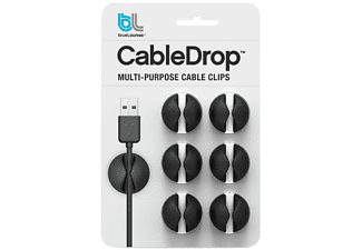 Cable - Bluelounge CableDrop Negro 6pieza(s) abrazadera para cable