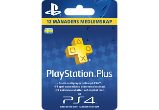 SONY TT PlayStation Plus - 12 månaders medlemskap
