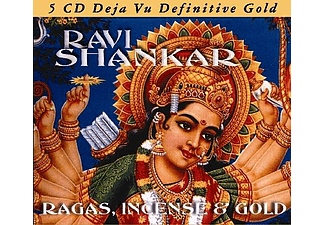 Ravi Shankar - Ragas, Incense & Gold (CD)