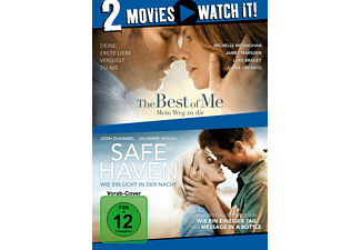 Pack: The Best of Me + Safe Haven - (DVD)