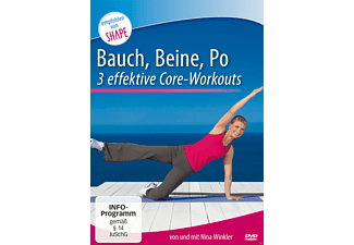 Bauch, Beine, Po - 3 intensive Core-Workouts - (DVD)