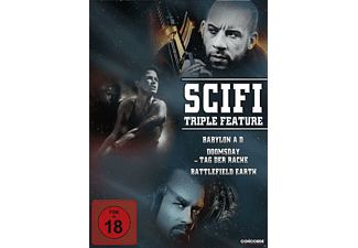 SciFi Triple Feature [DVD]