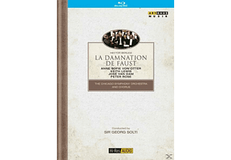 Solti/Chicago SO/Otter/Lewis/v - La Damnation De Faust [Blu-ray]