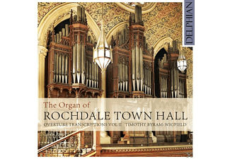 Timothy Byram-wigfield - The Organ Of Rochdale Town Hall - (CD)