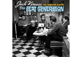 Jack Kerouac - The Beat Generation-His Complete Albums+3 [CD]