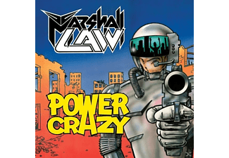 Marshall Law - Power Crazy - (CD)