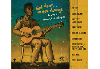 VARIOUS - God Don't Never Change: The Songs Of Blind Willie [CD]
