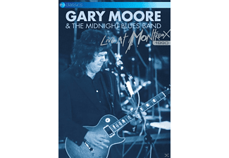 Gary Moore & The Midnight Blues Band - Gary Moore: Live At Montreux 1990 - (DVD)