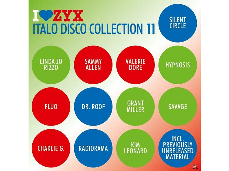 VARIOUS - Italo Disco Collection 11 [CD]