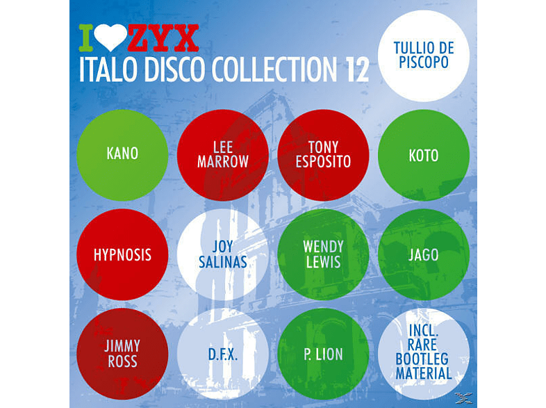 VARIOUS - Zyx Italo Disco Collection 12 [CD]