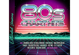 VARIOUS - 80s Chart Hits-Extended Versions - (CD)
