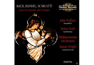 Wallace, Helen/Wallace/Wright/Philharmonia Orch. Field - Bach/Händel Soprano Arias - (CD)