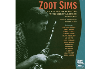 ZOOT FEAT.GREAT LEADERS Sims - Featured Sessions 1949 - (CD)