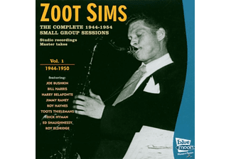 Zoot Sims - Complete 1944-50 Small Group Sessions - (CD)