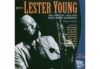 Lester Young - Complete 1944-49 Small Group Alternates - (CD)
