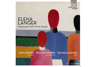 Anna Dennis, William Towers, Nicholas Daniel - Landscape With Three People - (CD)
