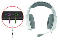 TRUST GXT 322W Gaming-Headset Weiß/Camouflage