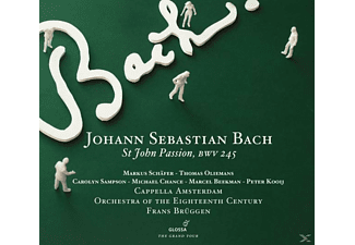 VARIOUS, Brüggen/Capella Amsterdam/Orchestra Of T - Johannespassion BWV 245 - (CD)