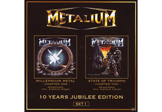 Metalium - 10 Years Jubilee Edition-Set 1 (Ltd.Ed.) - (CD)