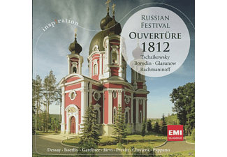 London Symphony Orchestra/ 	Berliner Sinfoniker /+ - OUVERTÜRE 1812 - RUSS.FESTIVAL - (CD)
