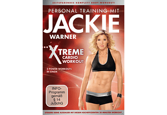 Personal Training Jackie Warner Xtreme Cardio Workout - (DVD)