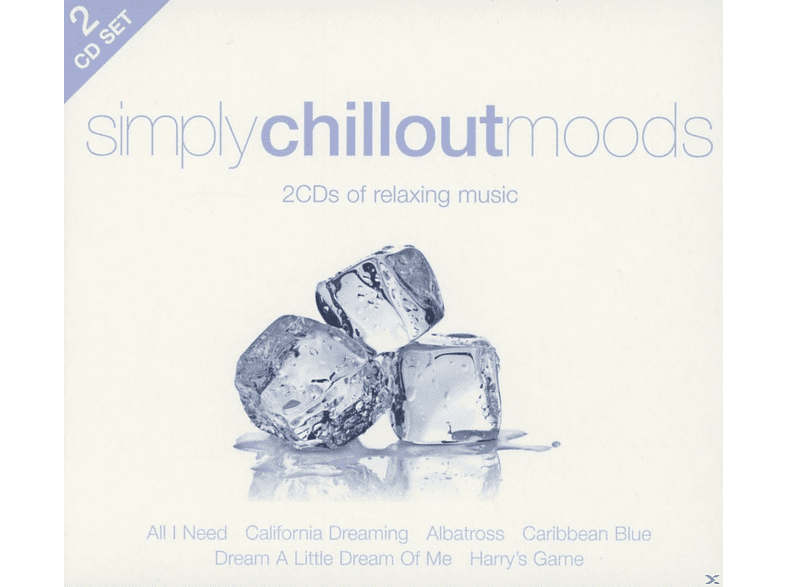 VARIOUS - Simply Chillout Moods (2cd) [CD]