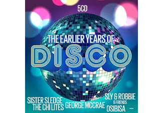 VARIOUS - The Earlier Years Of Disco - (CD)