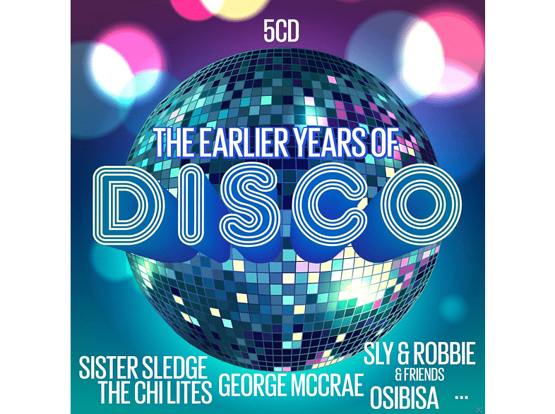 VARIOUS - The Earlier Years Of Disco [CD]