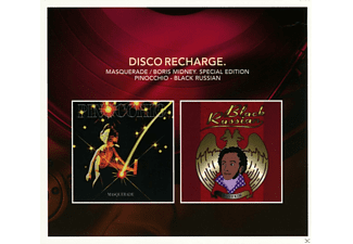 Masquerade, Boris Midney - Disco Recharge: Pinocchio/Black Russian - (CD)