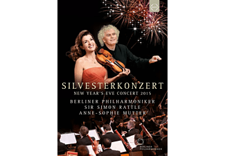 Anne-Sophie Mutter, Berliner Philharmoniker - Silvesterkonzert 2015 - (DVD)