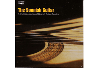 VARIOUS - THE SPANISH GUITAR - (CD)