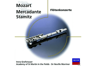 Sir Neville Marriner, Grafenauer,I./AMF/Marriner,N. - FLÖTENKONZERT 2 D-DUR KV 314/UA - (CD)