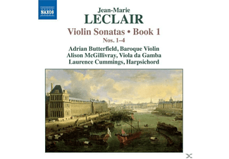 Laurence Cummings, Adrian Butterfield, Alison Mcgillivray, Butterfield/McGillivray/Cummings - Violinsonaten Buch 1,Nr.1-4 - (CD)