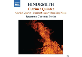 Spectrum Concerts Berlin - Klarinettenquintett - (CD)