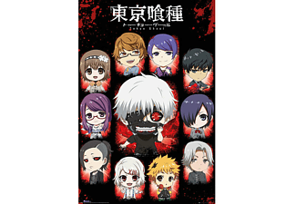Tokyo Ghoul Poster Chibi Characters