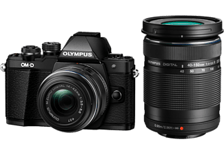 OLYMPUS Appareil photo hybride E-M10 Mark II + 14-42mm + 40-150mm (V207055BE000)