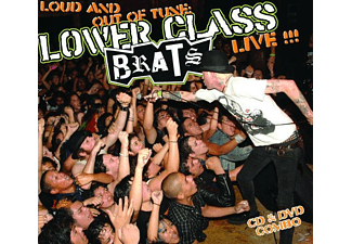 Lower Class Brats - Loud And Out Of Tune-Live! (CD+DVD) - (CD)