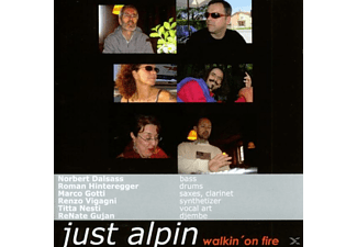 Just Alpin - Walkin' On Fire - (CD)