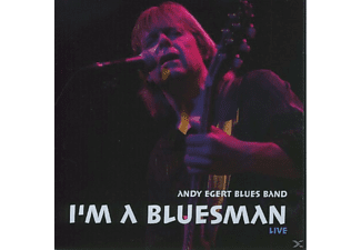 Andy Blues Band Egert - I'm A Bluesman - (CD)