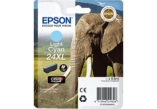 EPSON Original Tintenpatrone Elefant Light Cyan (C13T24354010)