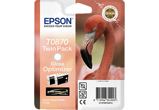 EPSON Original Tintenpatrone Flamingo Farblos (Gloss Optimiser) (C13T08704010)