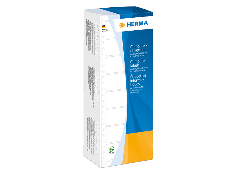 HERMA 8104 Computeretiketten  88.9x48.4 mm A4 3000 St.